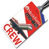 Meridiana MD-82 Crew Tag